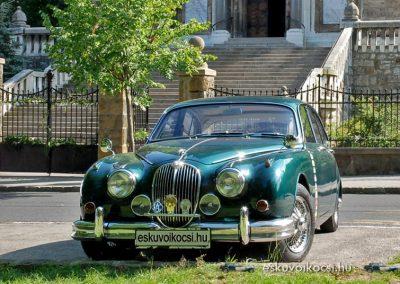 Klasszikus angol polgári autó