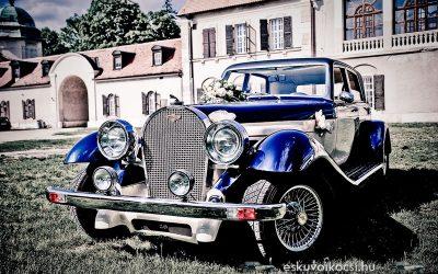 A Panther De Ville – egy meséből jött esküvői autó