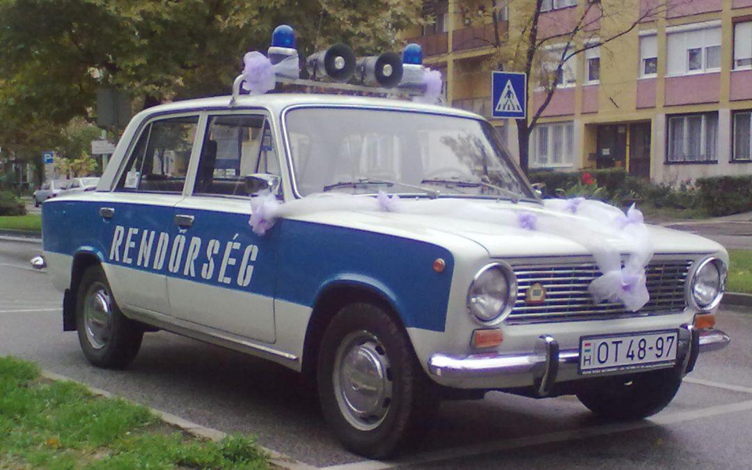 Rendőrségi Lada (Kecskemét)