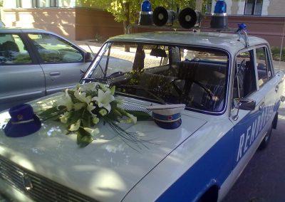 Eskuvoi auto rendor lada 002